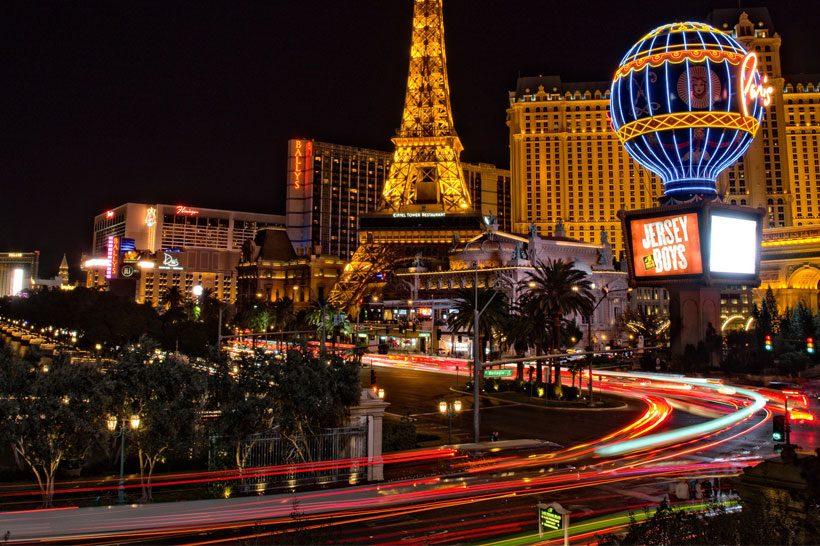 Vol vers Las Vegas